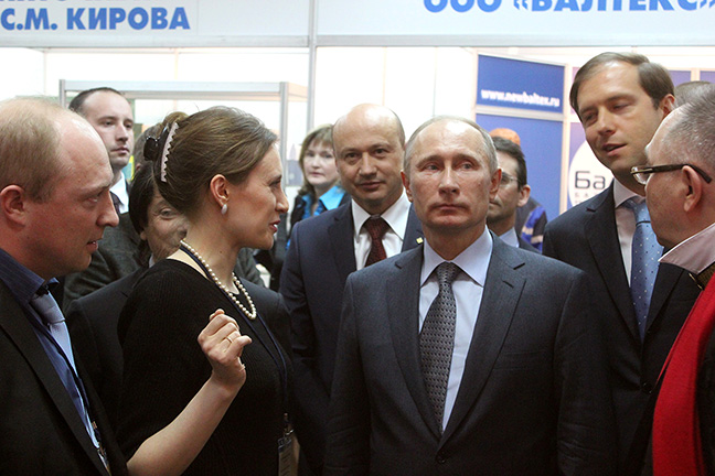 В.В. Путин в Вологде